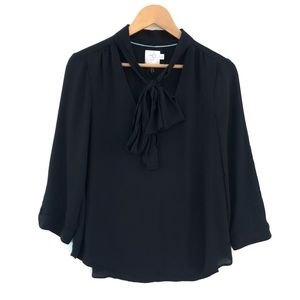 HD in Paris Long sleeve Tie Front  Bow